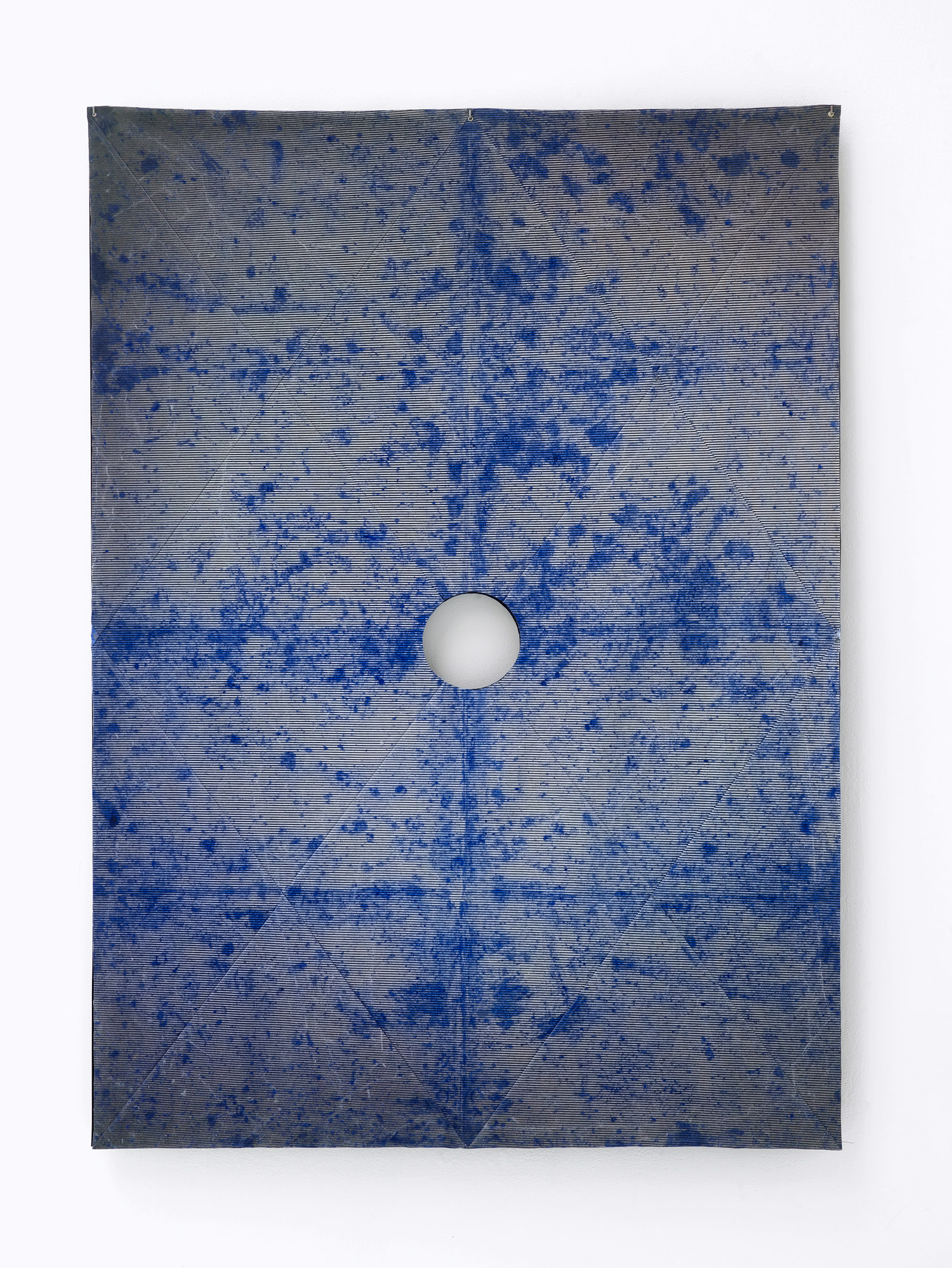 Wellstone - concrete, powder pigment, 105.5 x 64.5 x 5 cm, 2016