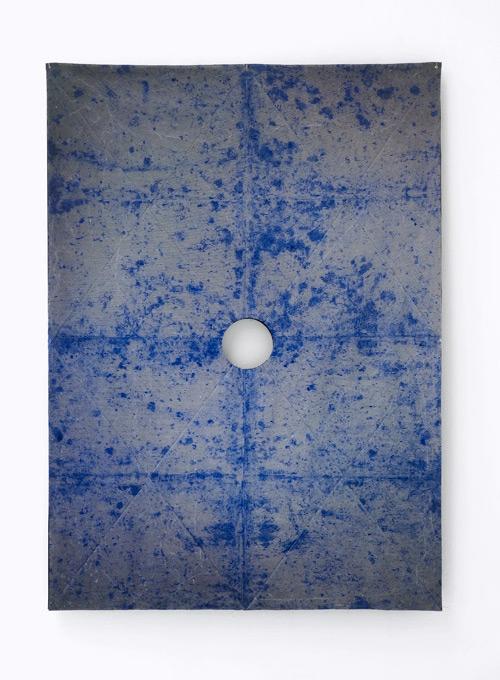 Wellstone - concrete, powder pigment, 105.5 x 64.5 x 5 cm, 2016